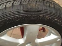 "Brand new 17"" wheel & tyre from Nissan Xtrail"