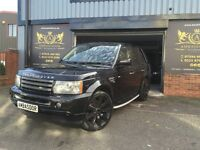 2007 Land Rover Range Rover Sport 2.7 TD V6 HSE 5dr HAWKE BLACK EDITION CONVERSION,