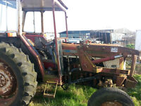 International 674 tractor for sale.