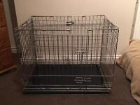 DOG CRATE CAGE SIZE MEDIUM CANINE PETS COLLECT ONLY ROMFORD RM5