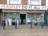 Well established diy store for sale