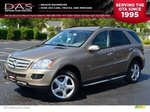 2009 Mercedes-Benz M-Class ML320 BLUETEC NAVIGATION/LEATHER/SUNR