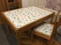 FREE - children's table and chairs