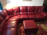 Ikea Leather Corner Settee Free.