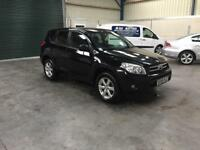 2008 Toyota RAV4 2.0d4d top spec full leather full mot guaranteed cheapest in country