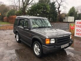 Discovery Td5 ES auto 7 Seater new mot just had £1700 works bill