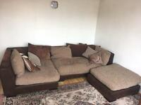 Large, comfy corner sofa - Free for collection