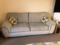 3 seater and 1 swivel chair for sale, can be sold separately