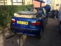 1995 fiat punto 1.6 cabriolet barn find rot free summer project