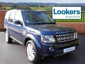 Land Rover Discovery SDV6 HSE (blue) 2014-09-01