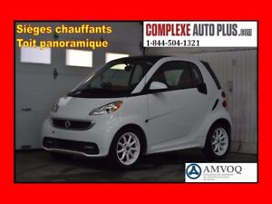 2015 Smart fortwo Passion *Navi/GPS, Toit panoramique