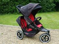 Phil and Ted's Explorer Double Pushchair *VERY GOOD CONDITION*