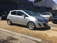 2012 VAUXHALL CORSA 1.2 SXI ..... 5DR .... SILVER ..... P/X WELCOME
