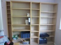 Shelving Storage Set (Ikea Billy Bookcase)