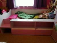 Girls Single Bed.
