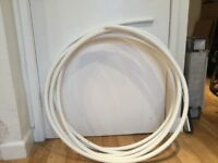 Central heating pipe, plastic.