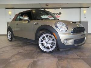 2010 Mini Cooper Convertible S, bluetooth, cuir