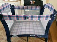 Graco pack n play. Baby playpen for sale  Arnold, Nottinghamshire