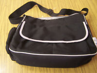 Boots black nappy bag with changing mat
