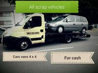 Vehicle scrapping removal
