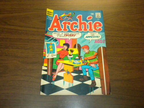 ARCHIE #178 ARCHIE COMICS 1967 Betty and Veronica - Jughead