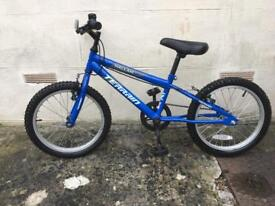 Boys Bike Blue 4-7yrs old