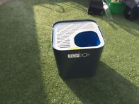 cat litter box unused