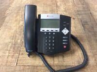 15+ POLYCOM OFFICE PHONES | £15 EACH