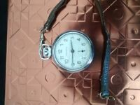 Ingersoll pocket watch.