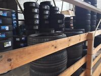 PIT STOP TYRES CHADWELL HEATH RM8 1SL CHEAP PART WORN AND NEW TYRES BMW MERC AUDI FORD