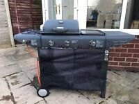 Gas BBQ for sale with hot plate