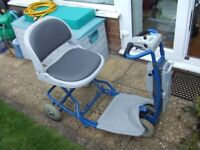 Aquasoothe Folding mobility scooter in good working order