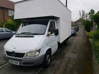 2004 Mercedes Sprinter Luton van with tail.and mot