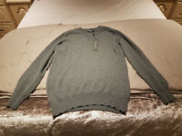 HAWICK CASHMERE JUMPER MENS MEDIUM