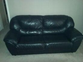 leather sofa.2seater