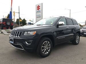 2014 Jeep Grand Cherokee Limited 4X4 ~Nav ~Backup Camera ~P/H/Le