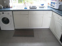 A number of Kitchen units and appliances, Most in good condition