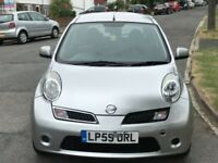 NISSAN MICRA 1.4 5 DOOR HATCHBACK PETROL. AUTOMATIC +VERLY LOW MILAGE+1 OWNER +FULL SERVICE HISTORY