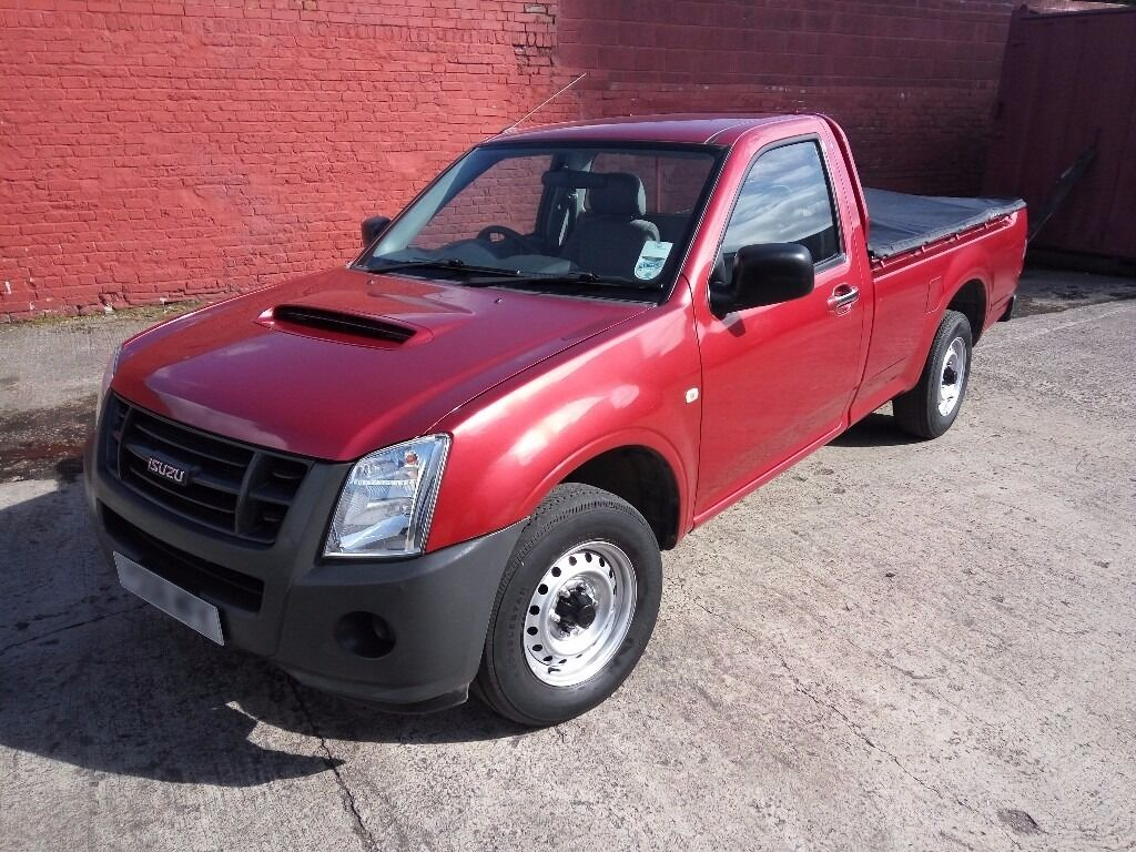 isuzu rodeo pickup truck for sale 2 seater single cab 2 5 turbo diesel 12 months mot in. Black Bedroom Furniture Sets. Home Design Ideas