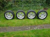 Mercedes alloy wheels