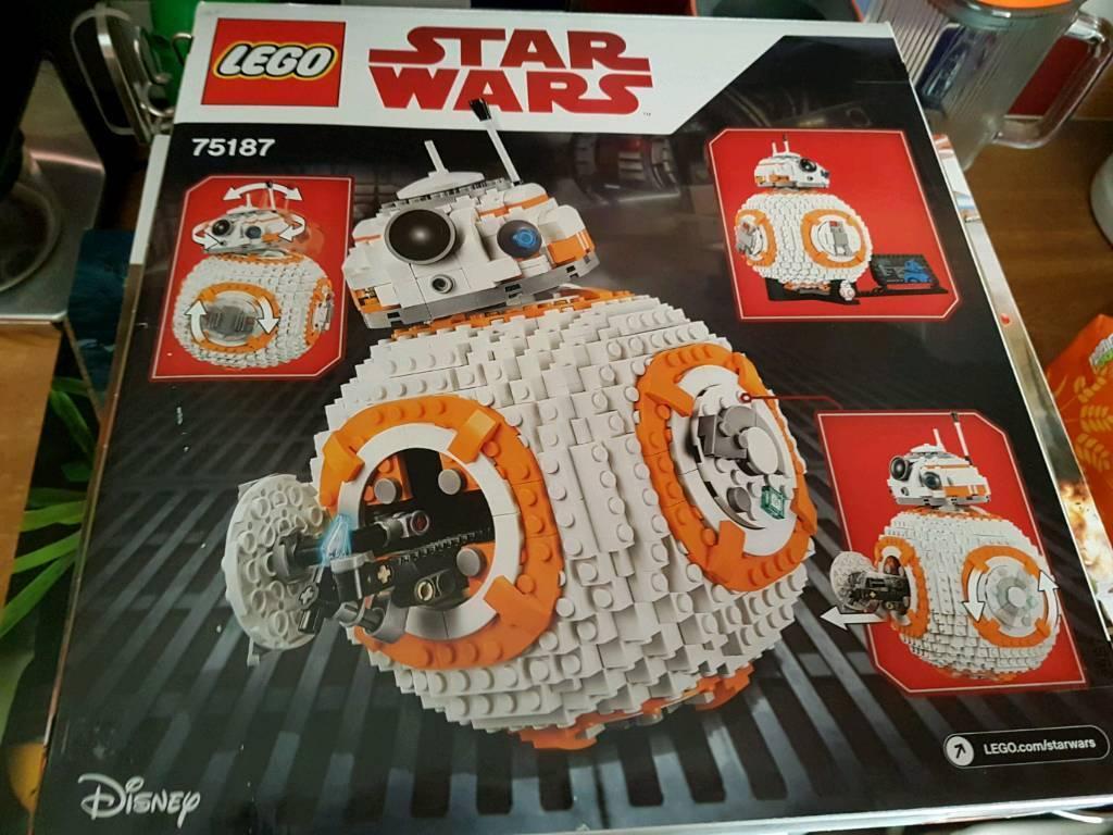 Star wars lego bb8 75187