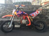 Ycf 125cc pit bike for sale, Ken Roczen limited edition. Very very good condition £700