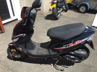 WK GO50 Moped Scooter Black Ideal 1st Bike