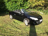 Renault Megane 1.4TCe Dynamiuqe (Tom Tom)Convertible 2011 in BLACK