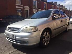 Vauxhall Astra 1.8 sri 16v 5 door mot till Aug low miles