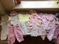 Baby Clothes bundle 0-6 months