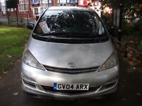 Toyota Previa 2.0 D-4D T2 5dr (8 Seat)£1,299 NATION WIDE WARRANTY AVAILABLE CAT 2004 (04 reg), MPV