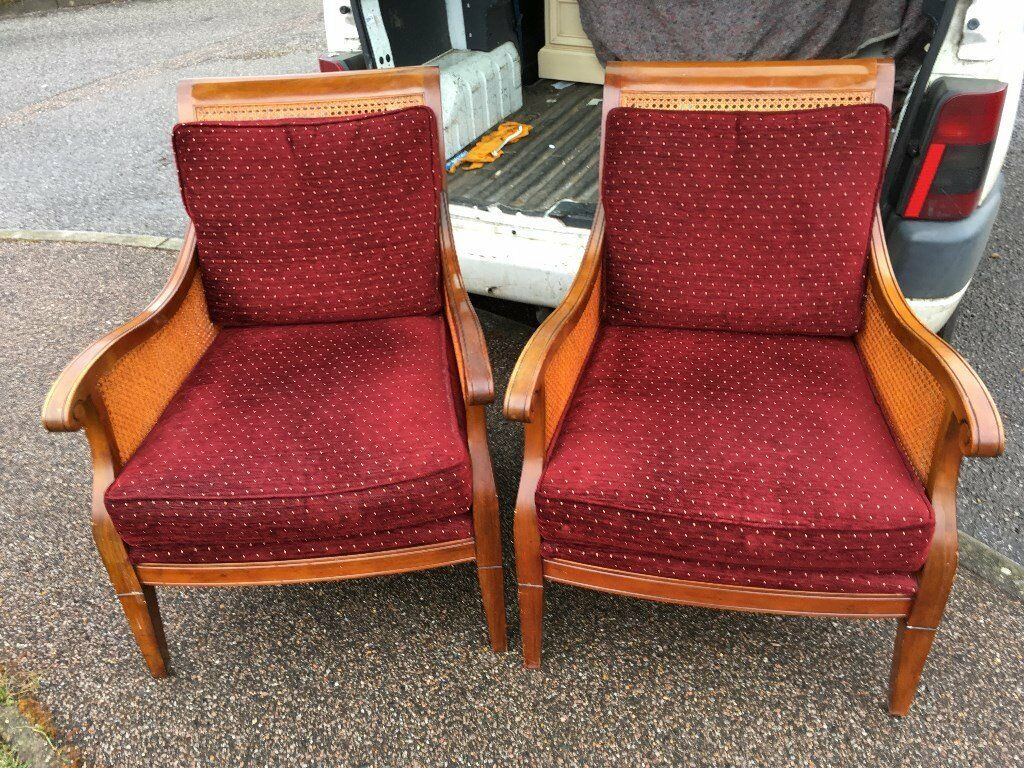 A pair of Club Chairs