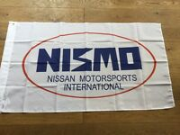 Nismo Nissan workshop flag banner pulsar gtir Almera Primera skyline Silvia micra sunny navara