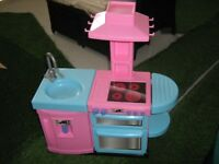 Great Condition Pink Toy Kitchen with Sounds